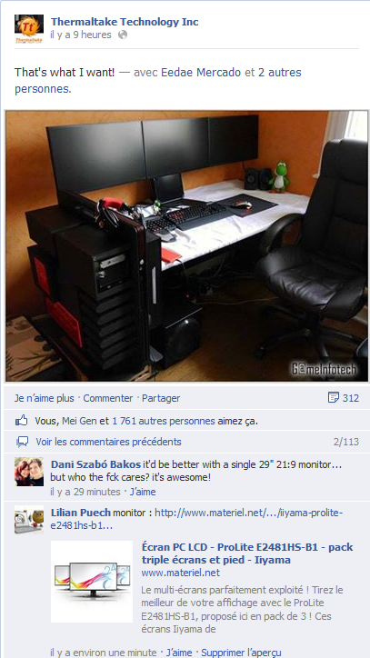 Desk Thermaltake lvl 10 Gameinfotech