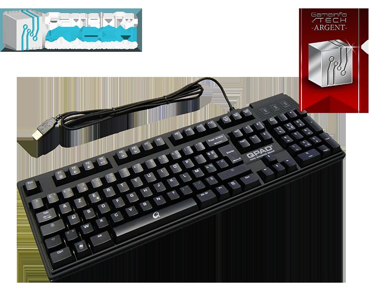 Qpad clavier test mk70