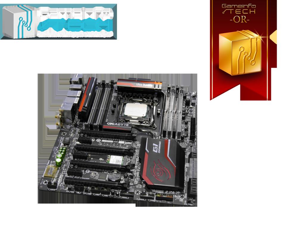 Gigabyte carte mère x99 processeur i7-5820k médaille d'or